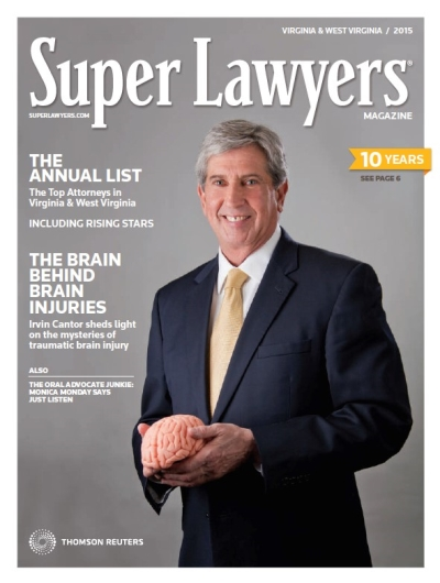 Irvin Cantor featured in Super Lawyers